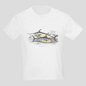 Bonito and Swordfish Fish (Front) Kids T-Shirt