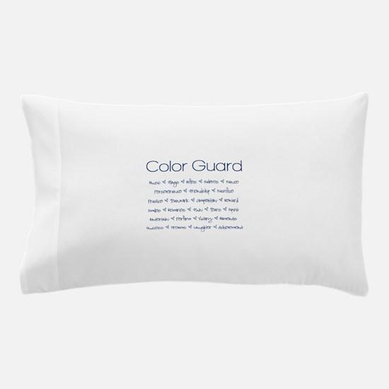 Color Guard Navy Blue Pillow Case