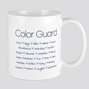 Color Guard Navy Blue Mug