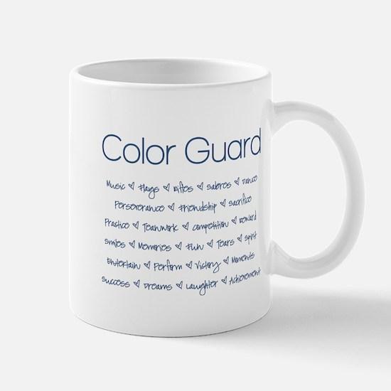 Color Guard Navy Blue Mug
