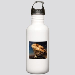 .young bearded dragon. Stainless Water Bottle 1.0L