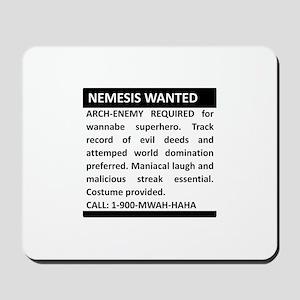 Nemesis Wanted Mousepad