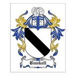 Bunkell Coat of Arms Small Poster