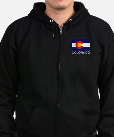 CO - Colorado Zip Hoodie (dark)