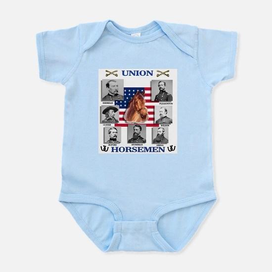 Union Horsemen Infant Bodysuit