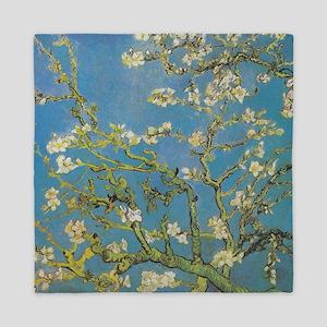 Almond Branches by Van Gogh Queen Duvet