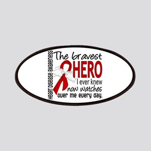 Bravest Hero I Knew Heart Disease Patches