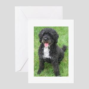 Portuguese Waterdog Greeting Card