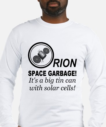 Orion Space Garbage Long Sleeve T-Shirt