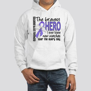 Bravest Hero I Knew Esophageal Cancer Hooded Sweat