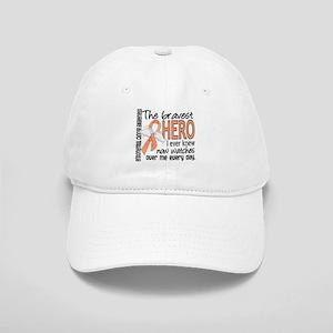 Bravest Hero I Knew Endometrial Cancer Cap