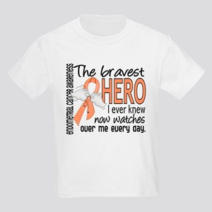 Bravest Hero I Knew Endometrial Cancer Kids Light