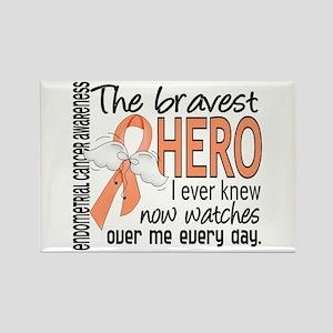 Bravest Hero I Knew Endometrial Cancer Rectangle M