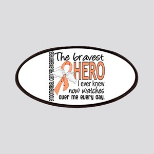 Bravest Hero I Knew Endometrial Cancer Patches