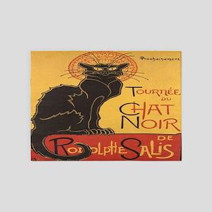 Le Chat Noir 5'x7'Area Rug