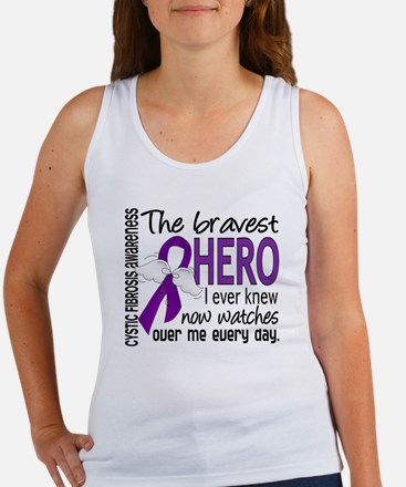 Bravest Hero I Knew Cystic Fibrosis Women's Tank T
