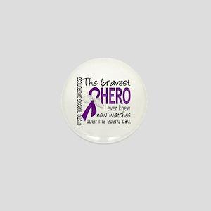 Bravest Hero I Knew Cystic Fibrosis Mini Button