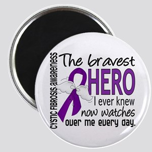 Bravest Hero I Knew Cystic Fibrosis Magnet