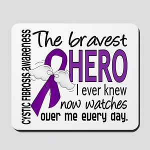 Bravest Hero I Knew Cystic Fibrosis Mousepad