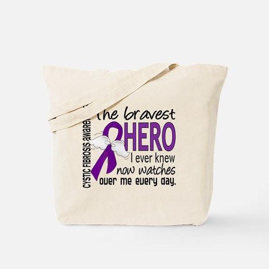 Bravest Hero I Knew Cystic Fibrosis Tote Bag