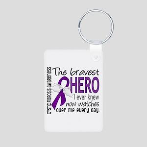 Bravest Hero I Knew Cystic Fibrosis Aluminum Photo
