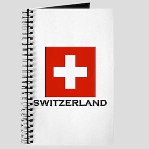 Switzerland Flag Stuff Journal