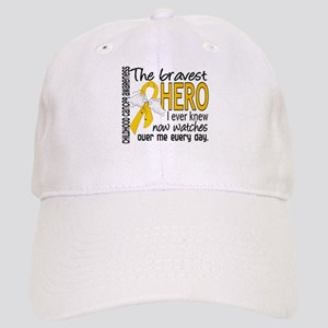 Bravest Hero I Knew Childhood Cancer Cap