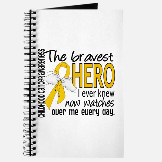 Bravest Hero I Knew Childhood Cancer Journal