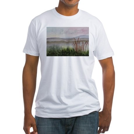 Misty Day Fitted T-Shirt