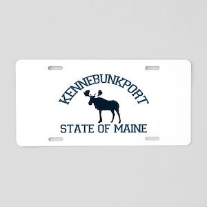 Kennebunkport ME - Moose Design. Aluminum License