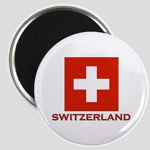Switzerland Flag Merchandise Magnet