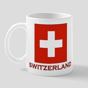 Switzerland Flag Merchandise Mug