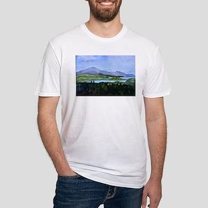 Newport & Lake Mem Fitted T-Shirt