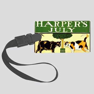 Harpers July Large Luggage Tag