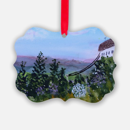 Jay Peak Lookout Ornament