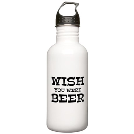 Wish You Were Beer Stainless Water Bottle 1.0L