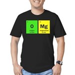 Funny chemistry Men's Fitted T-Shirt (dark)