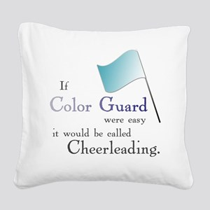 If Colorguard were easy it would be called Cheerle