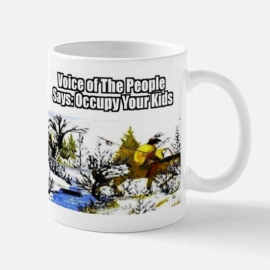 Occupy Your Kids Mug