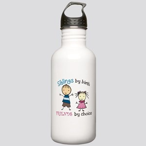 Siblings By Birth Stainless Water Bottle 1.0L