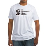 Lincoln: Be Excellent To Each Other Fitted T-Shirt