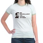 Lincoln: Be Excellent To Each Other Jr. Ringer T-S