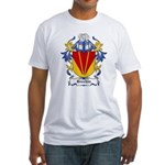 Brechin Coat of Arms Fitted T-Shirt