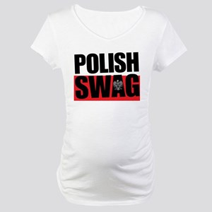 Polish Swag Maternity T-Shirt