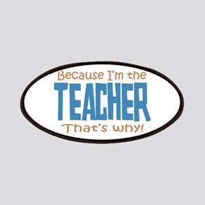 Because I'm the Teacher Patches