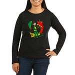 Ska Mon Women's Long Sleeve Dark T-Shirt