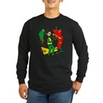 Ska Mon Long Sleeve Dark T-Shirt