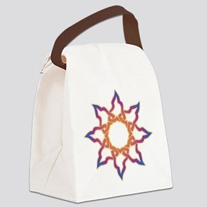 celtic star Canvas Lunch Bag
