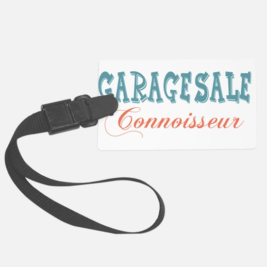 Garage Sale Connoisseur Luggage Tag