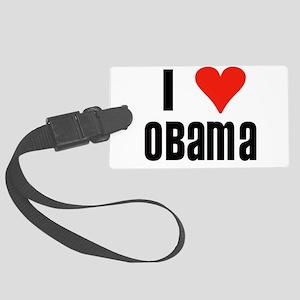 I heart OBAMA Large Luggage Tag